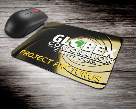 Globex Corporation Project Arcturus Simpsons Inspired Mouse Mat